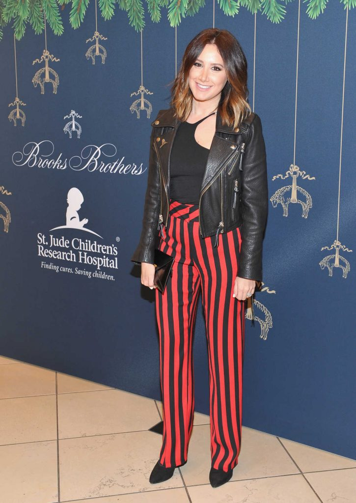 Ashley Tisdale at the Brooks Brothers Holiday Celebration With St Jude Children's Research Hospital in Beverly Hills 12/02/2017-3