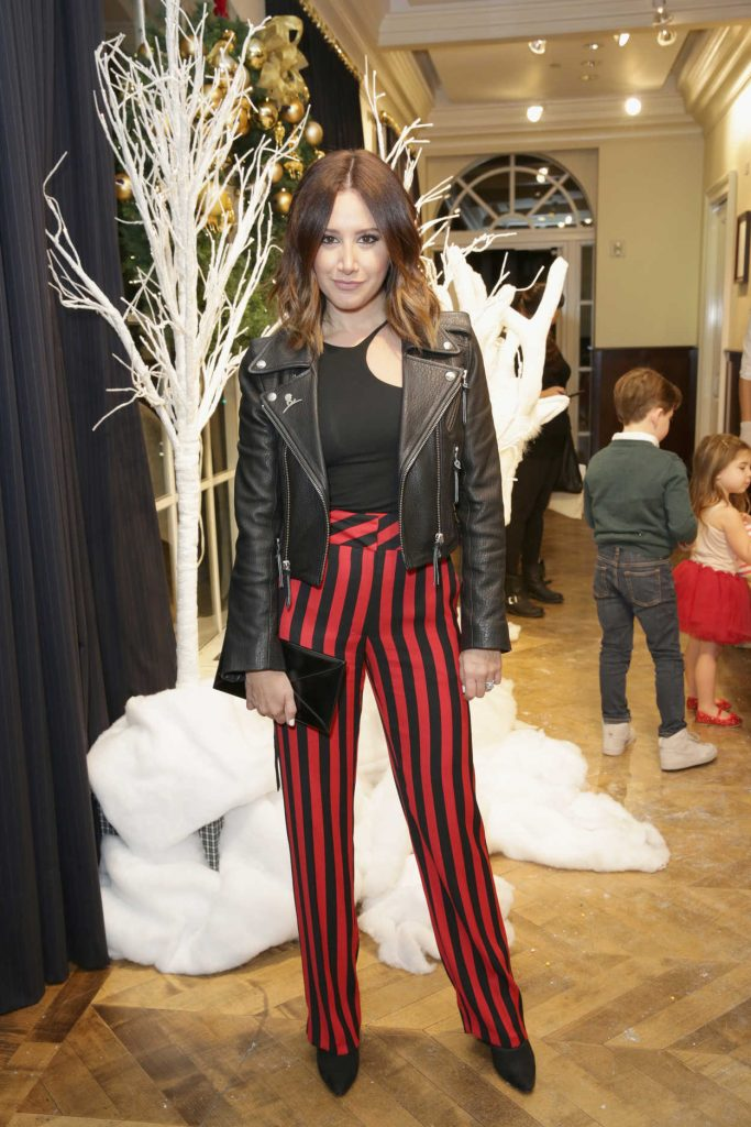 Ashley Tisdale at the Brooks Brothers Holiday Celebration With St Jude Children's Research Hospital in Beverly Hills 12/02/2017-4