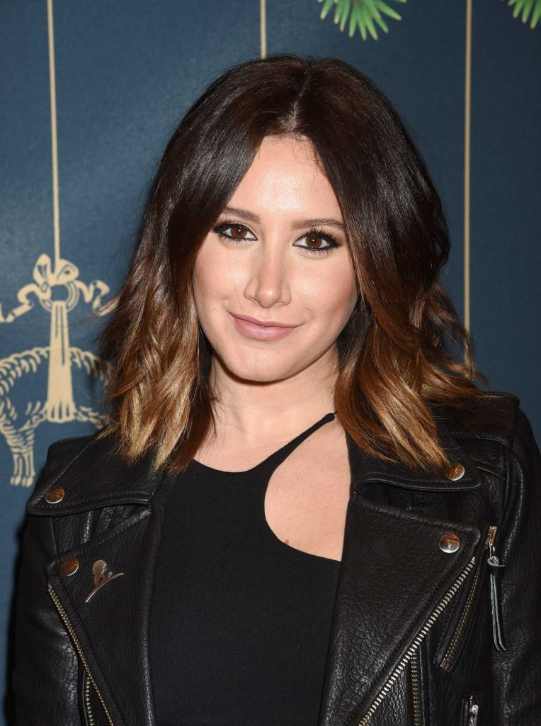Ashley Tisdale at the Brooks Brothers Holiday Celebration With St Jude Children's Research Hospital in Beverly Hills 12/02/2017-5