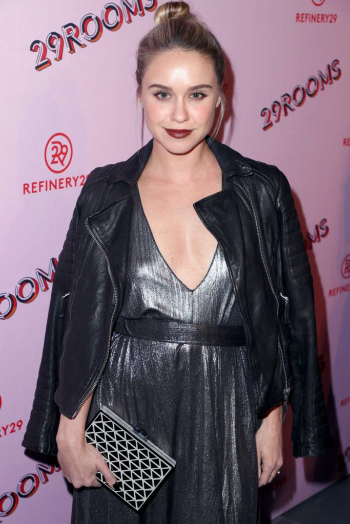 Becca Tobin at the Refinery29 Rooms Los Angeles: Turn It Into Art Opening Night Party in Los Angeles 12/06/2017-3