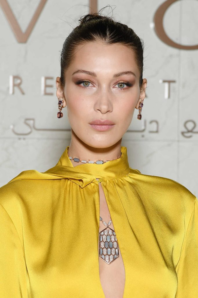 Bella Hadid at the Grand Opening of Bulgari Dubai Resort in Dubai 12/05/2017-3