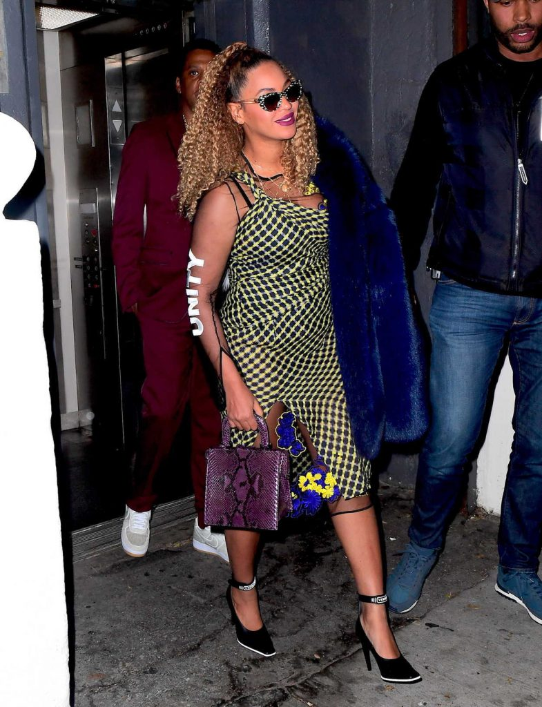 Beyonce Was Seen Out in New York City 12/04/2017-4
