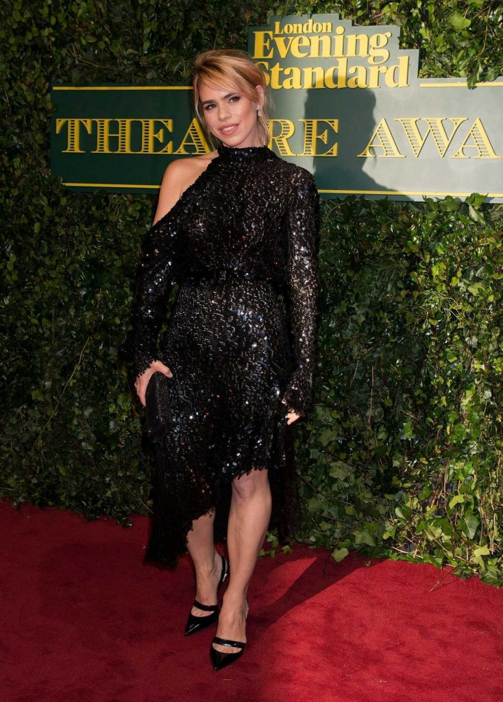 Billie Piper at the London Evening Standard Theatre Awards at Theatre Royal in London 12/03/2017-1