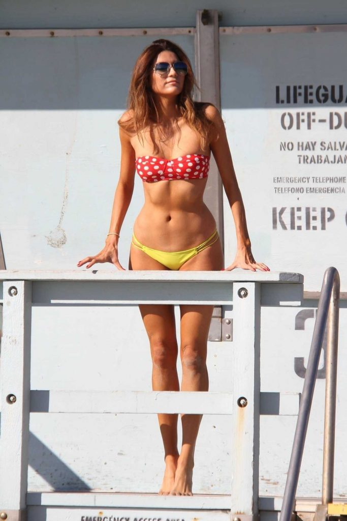 Blanca Blanco in Bikini at the Matador Beach in Malibu 12/15/2017-4