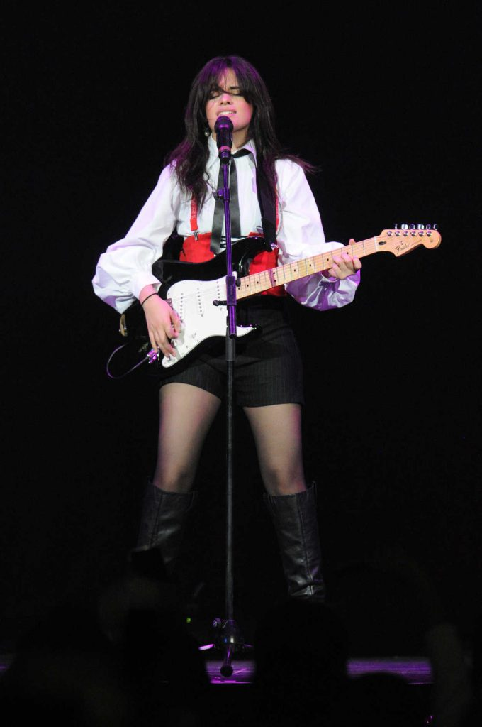 Camila Cabello Performs During 93.3 FLZ's 2017 Jingle Ball in Tampa 12/16/2017-3