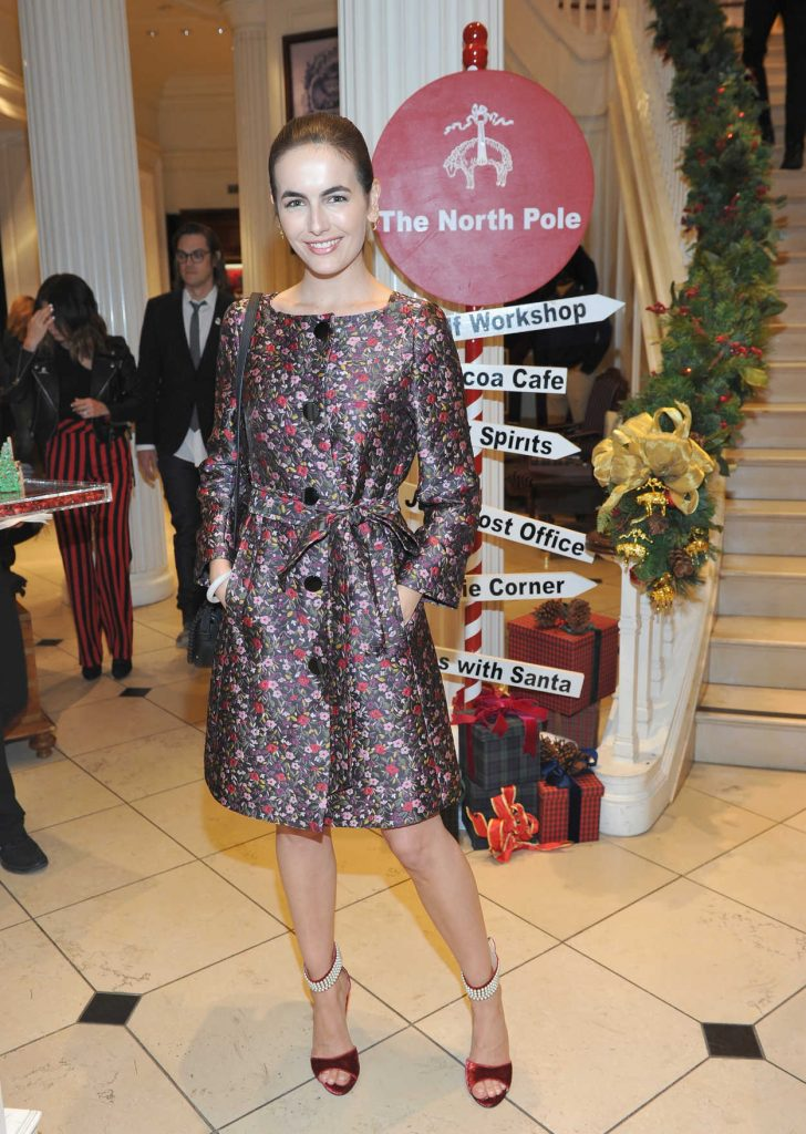 Camilla Belle at the Brooks Brothers Holiday Celebration With St Jude Children's Research Hospital in Beverly Hills 12/02/2017-1