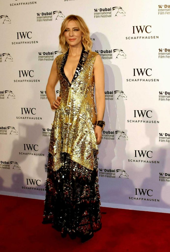 Cate Blanchett at the 6th IWC Filmmaker Award During Dubai International Film Festival in Dubai 12/07/2017-1