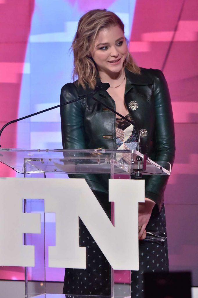 Chloe Moretz Arrives at the 31st FN Achievement Awards in NYC 11/28/2017-4