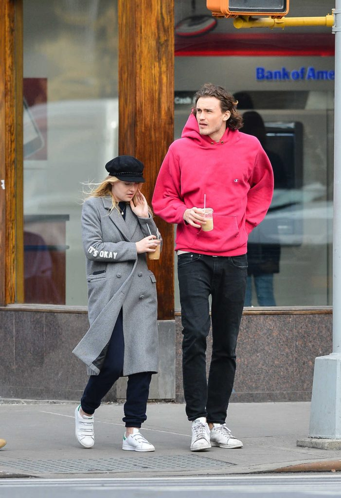 Dakota Fanning Was Seen Out in NYC 12/19/2017-1