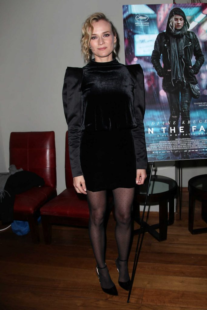 Diane Kruger at In the Fade New York Premiere Afterparty in New York 12/04/2017-1