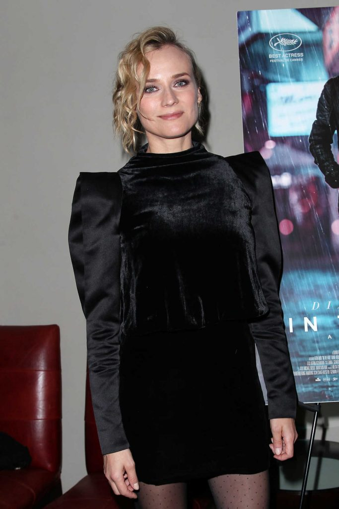 Diane Kruger at In the Fade New York Premiere Afterparty in New York 12/04/2017-2