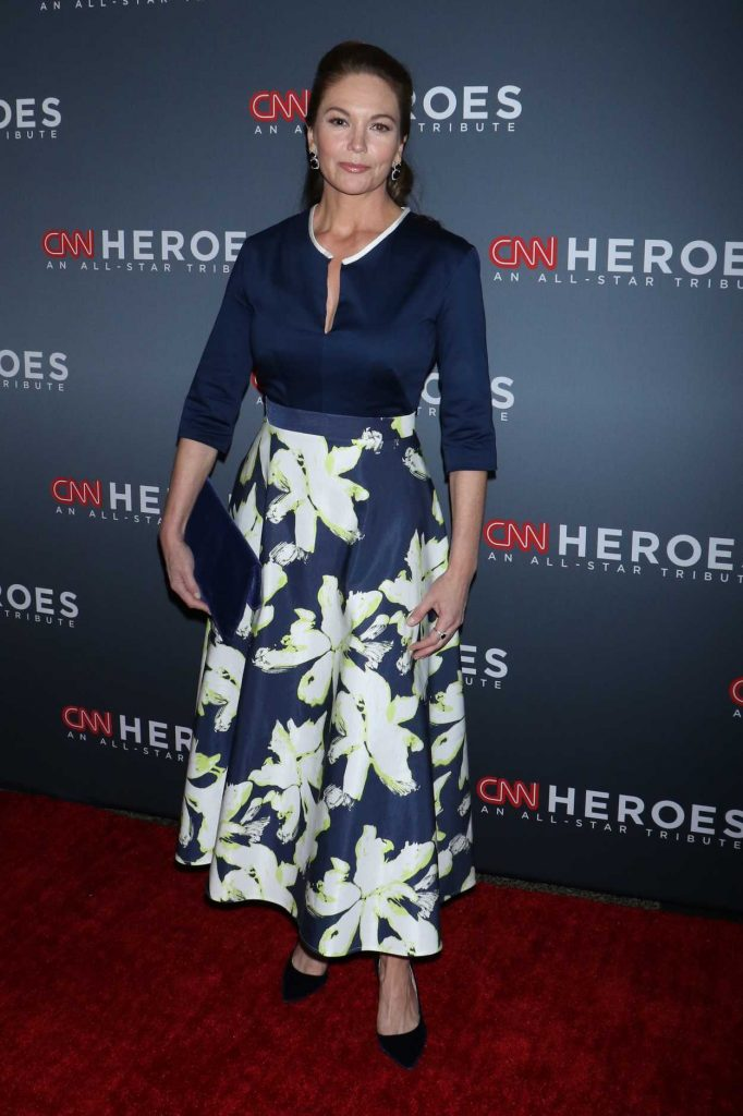 Diane Lane at the 11th Annual CNN Heroes: An All-Star Tribute in New York 12/17/2017-1