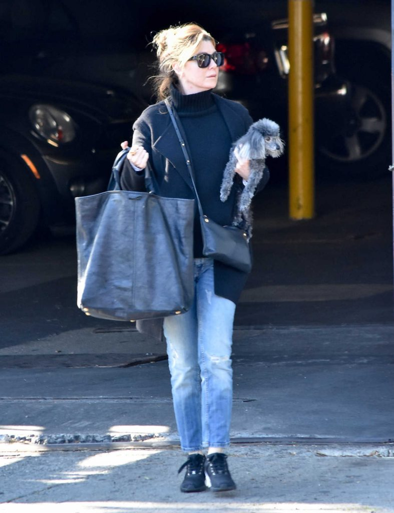 Ellen Pompeo Was Seen Out in Los Angeles 12/21/2017-1