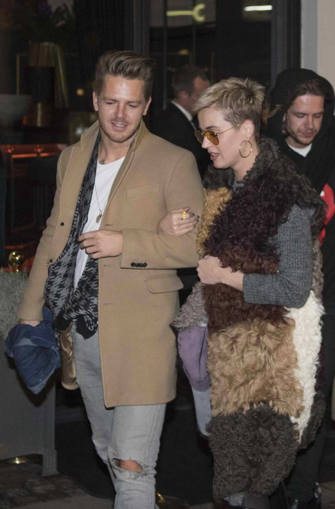 Katy Perry Night Out in Denmark 12/25/2017-3