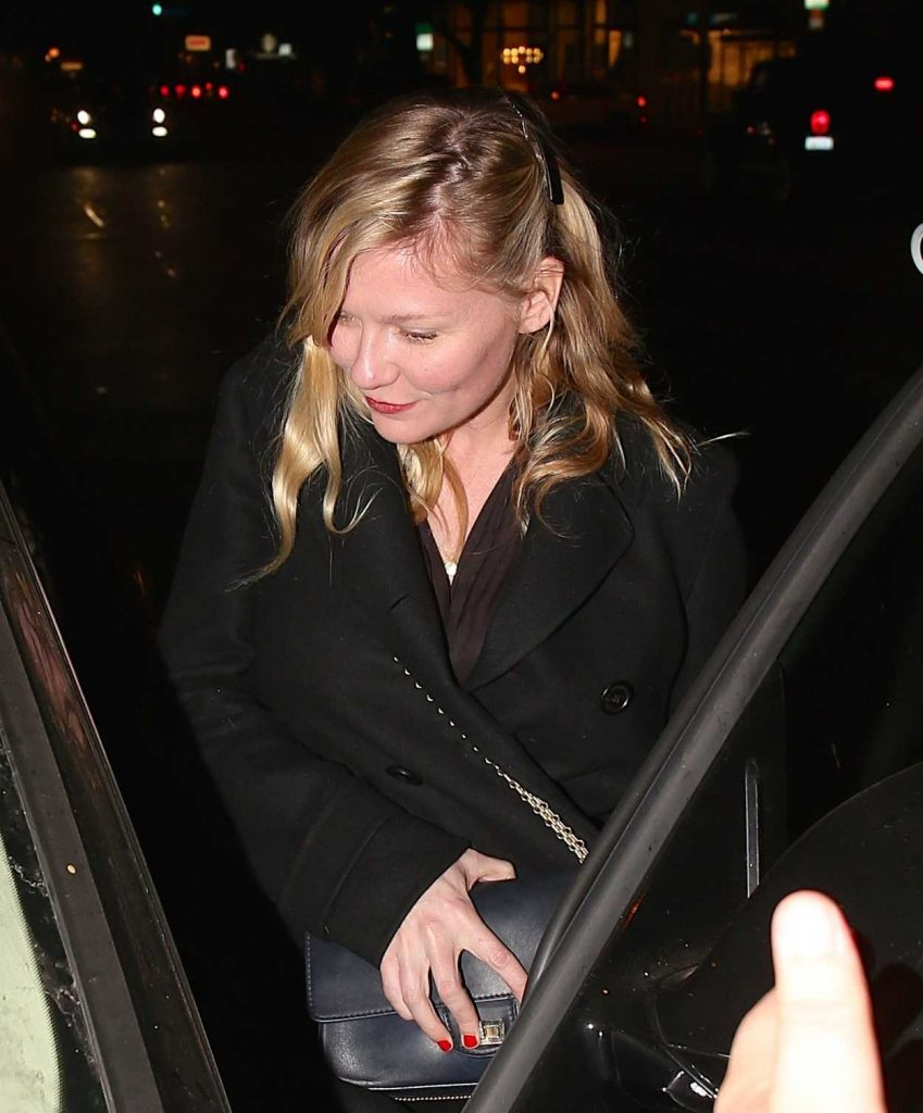 Kirsten Dunst Leaves Madeo Restaurant in West Hollywood 12/19/2017-4