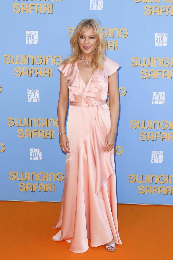Kylie Minogue at the Swinging Safari Premiere in Sydney 12/13/2017-1