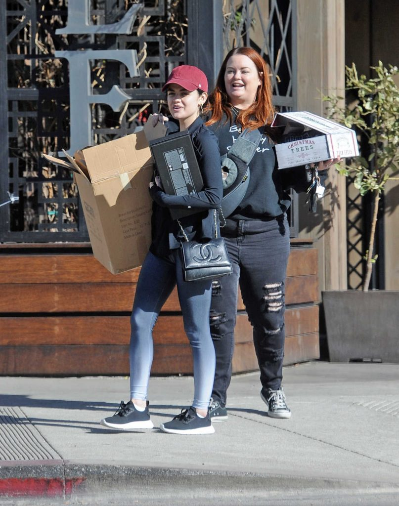 Lucy Hale Leaves the Granville Restaurant in Studio City 12/25/2017-5