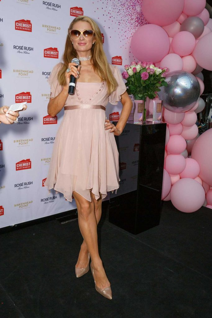 Paris Hilton Promoted Her New Perfume in Sydney 11/30/2017-1