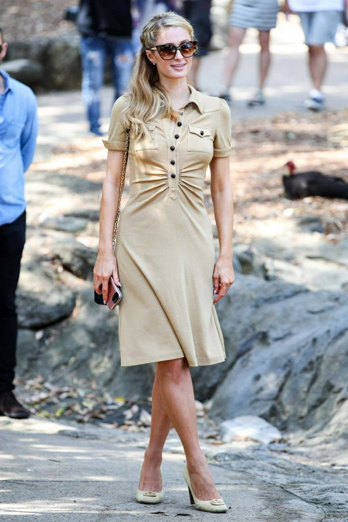 Paris Hilton Was Seen at Taronga Zoo in Sydney 12/01/2017-1
