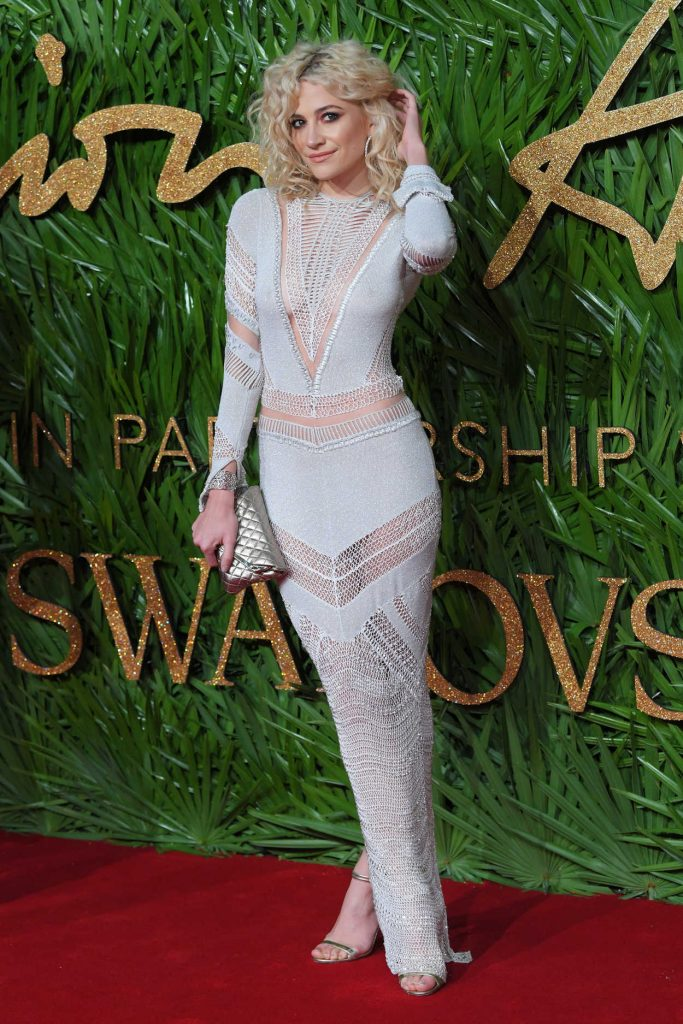 Pixie Lott at 2017 British Fashion Awards at the Royal Albert Hall in London 12/04/2017-2