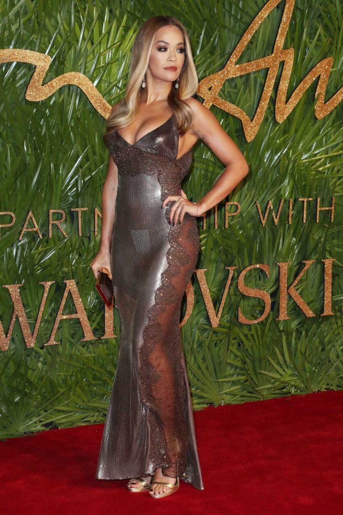 Rita Ora at 2017 British Fashion Awards at the Royal Albert Hall in London 12/04/2017-2