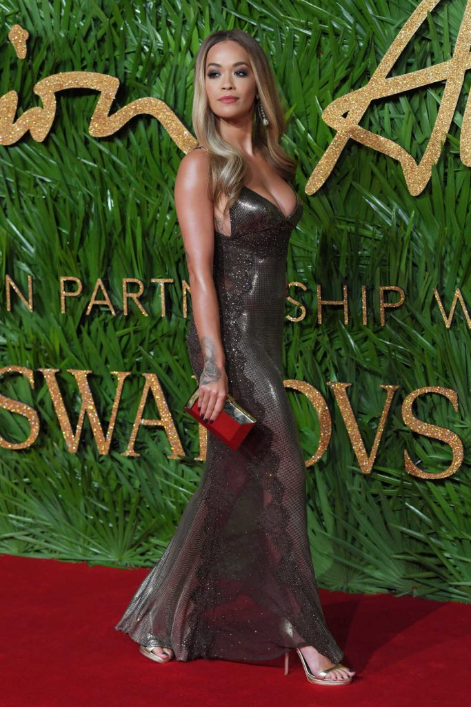 Rita Ora at 2017 British Fashion Awards at the Royal Albert Hall in London 12/04/2017-3