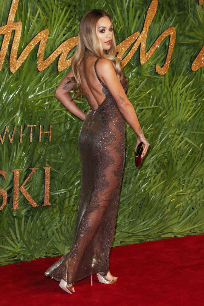 Rita Ora at 2017 British Fashion Awards at the Royal Albert Hall in London 12/04/2017-4