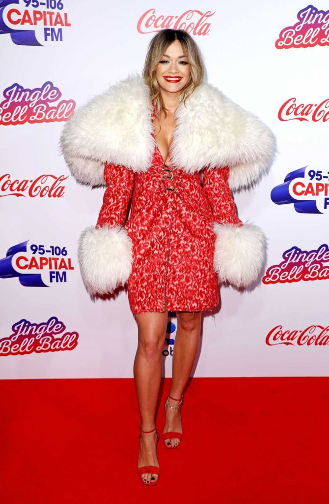 Rita Ora at the Capital FM Jingle Bell Ball in London 12/09/2017-1