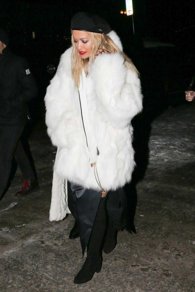 Rita Ora Night Out in Aspen 12/28/2017-1