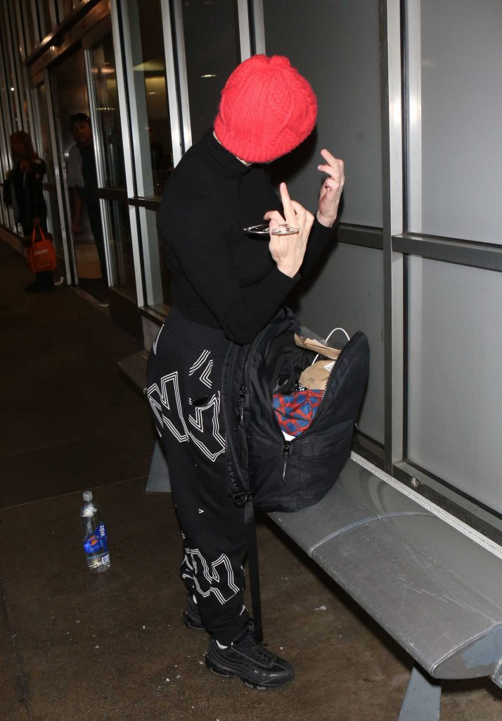 Rose McGowan Was Spotted at LAX Airport in LA 12/26/2017-3