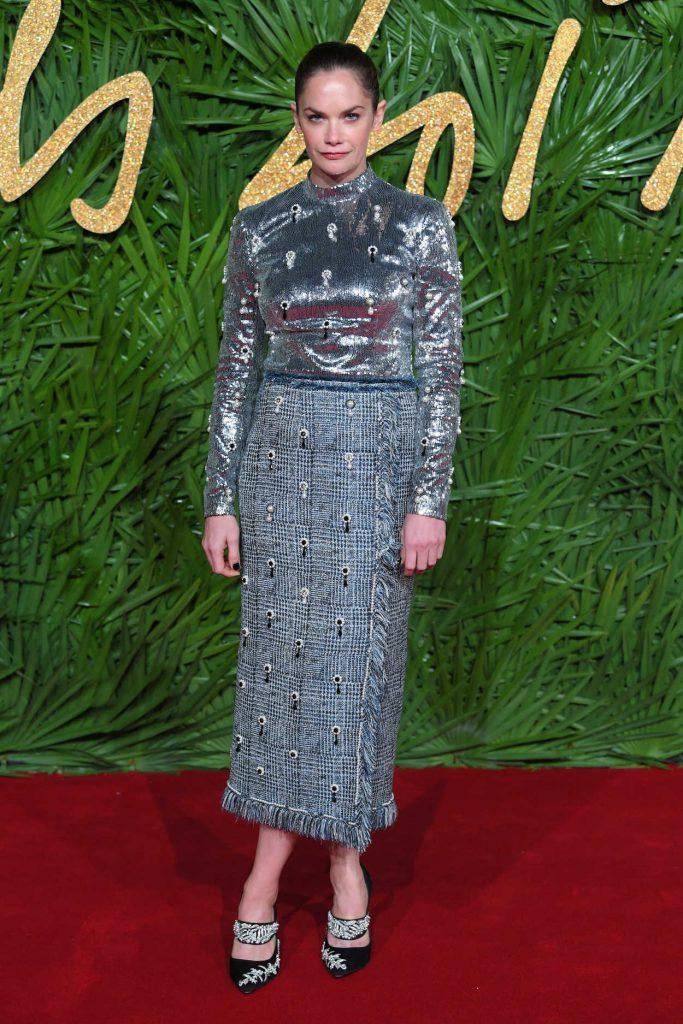 Ruth Wilson at 2017 British Fashion Awards at the Royal Albert Hall in London 12/04/2017-1