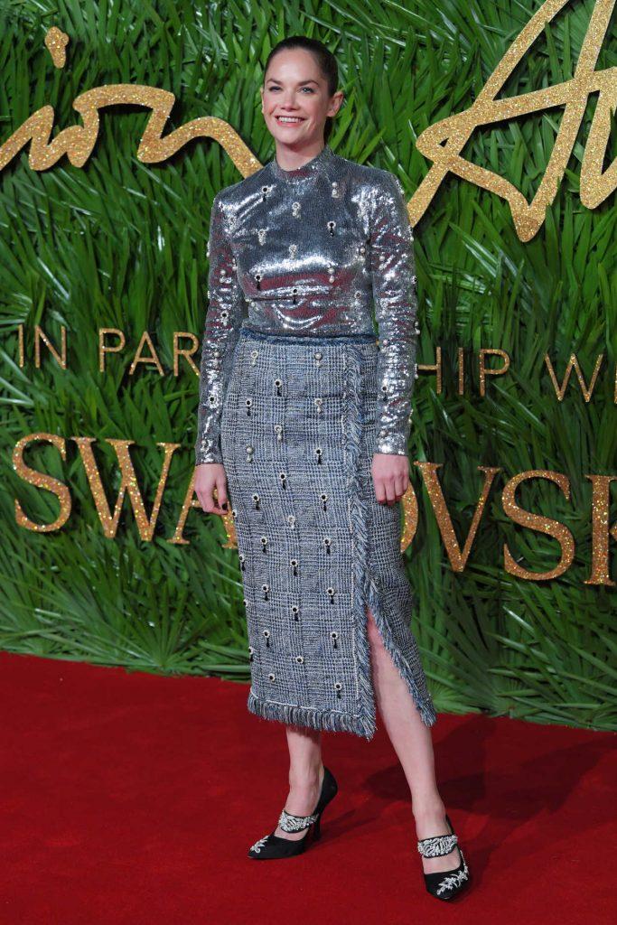 Ruth Wilson at 2017 British Fashion Awards at the Royal Albert Hall in London 12/04/2017-2