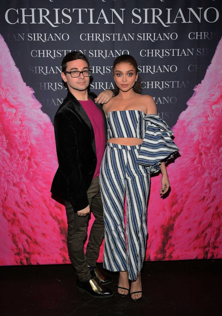 Sarah Hyland at Christian Siriano's Celebrates the Launch of His New Book Dresses to Dream About in Los Angeles 11/30/2017-2