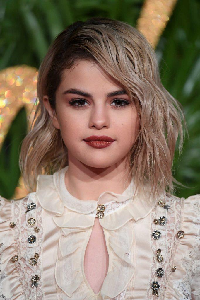 Selena Gomez at 2017 British Fashion Awards at the Royal Albert Hall in London 12/04/2017-5