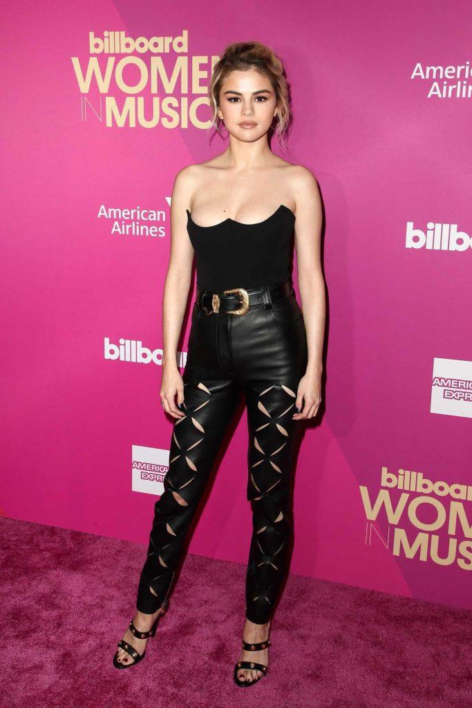 Selena Gomez at Billboard Women in Music in Los Angeles 11/30/2017-1
