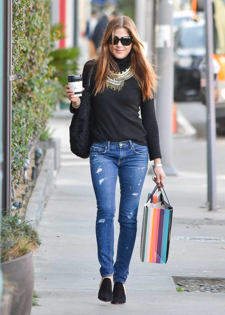 Selma Blair Does Christmas Shopping at Paul Smith in West Hollywood 12/22/2017-1