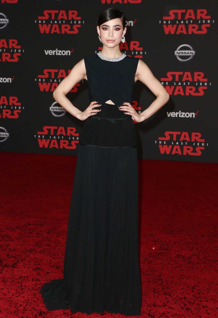 Sofia Carson at the Star Wars: The Last Jedi Premiere in Los Angeles 12/09/2017-2