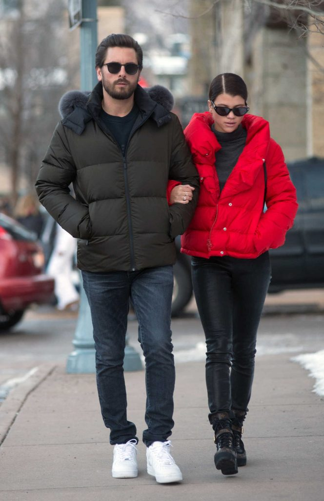 Sofia Richie Does a Romantic Stroll with Scott Disick in Aspen 12/29/2017-4