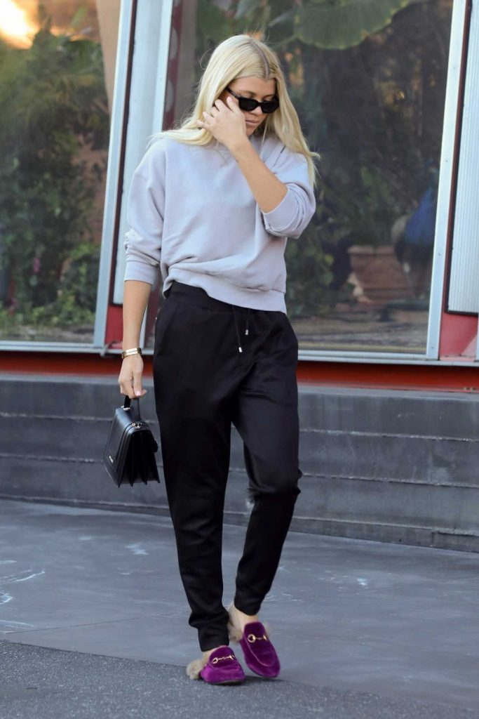 Sofia Richie Was Seen Out in West Hollywood 12/05/2017-1