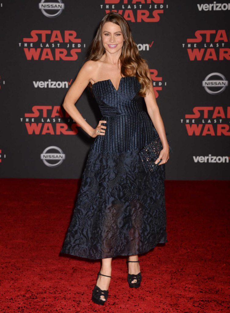 Sofia Vergara at the Star Wars: The Last Jedi Premiere in Los Angeles 12/09/2017-1