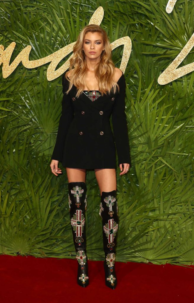 Stella Maxwell at 2017 British Fashion Awards at the Royal Albert Hall in London 12/04/2017-1