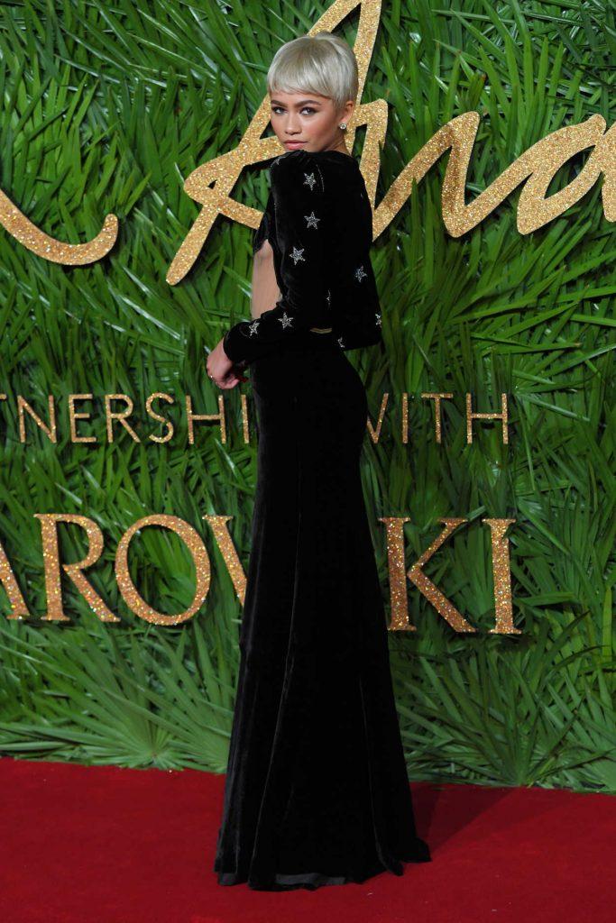 Zendaya at 2017 British Fashion Awards at the Royal Albert Hall in London 12/04/2017-4