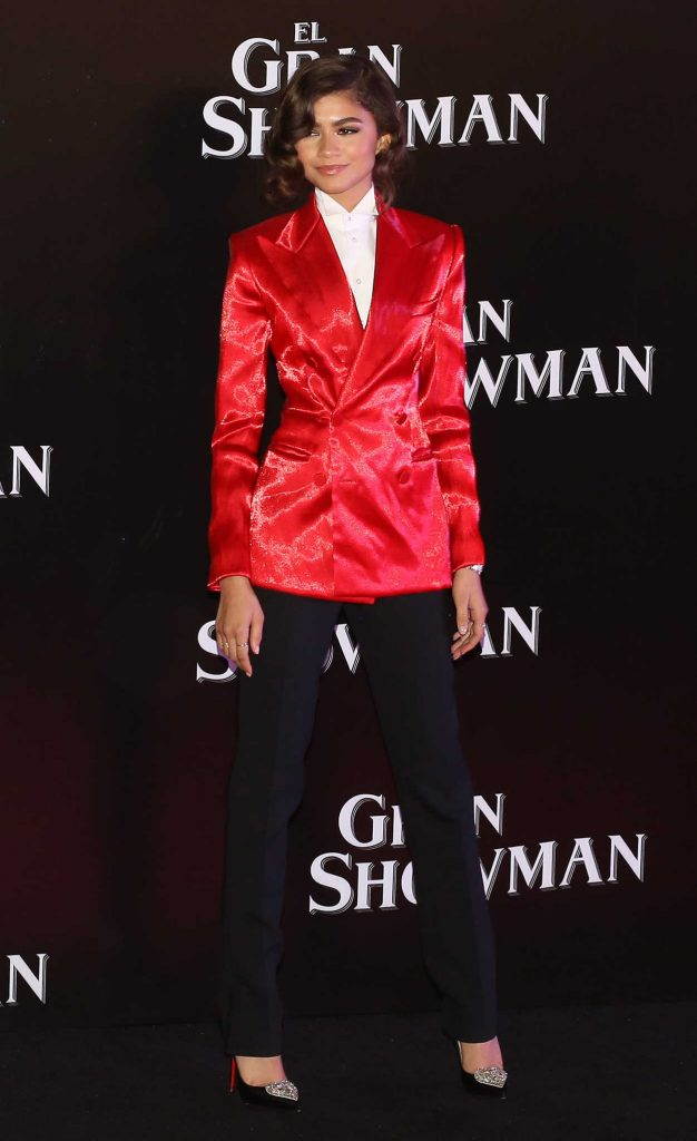Zendaya at The Greatest Showman Premiere at Oasis Coyoacan in Mexico City 12/13/2017-1
