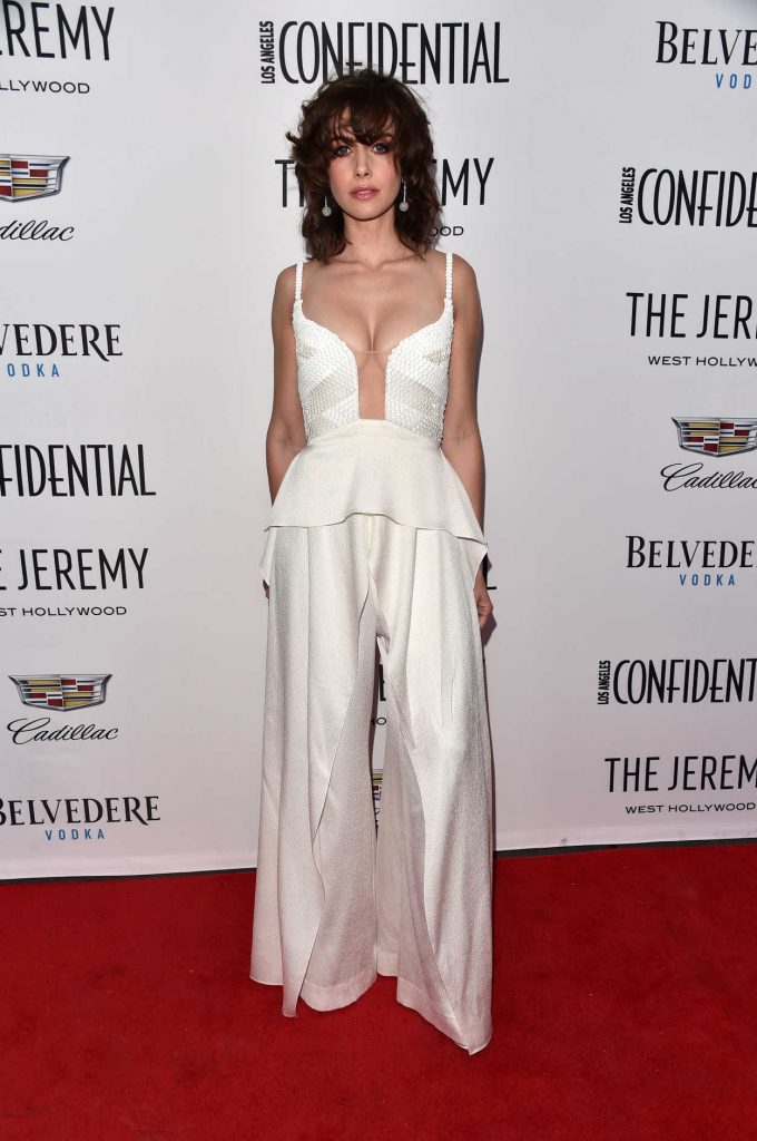 Alison Brie at Los Angeles Confidential Celebrates Awards Issue in West Hollywod 01/13/2018-1