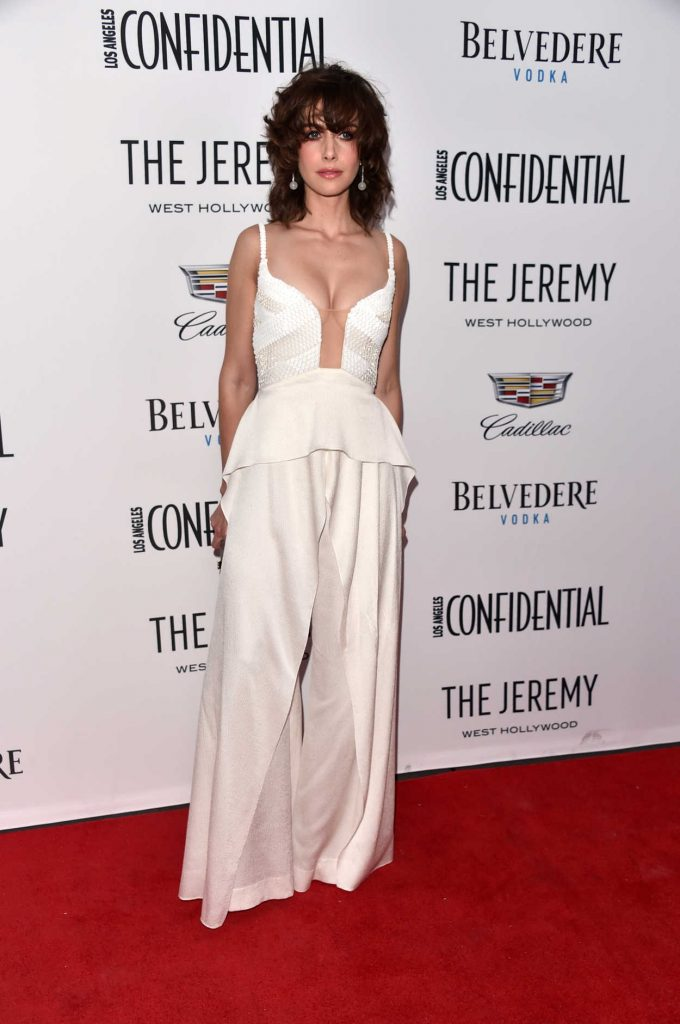 Alison Brie at Los Angeles Confidential Celebrates Awards Issue in West Hollywod 01/13/2018-2