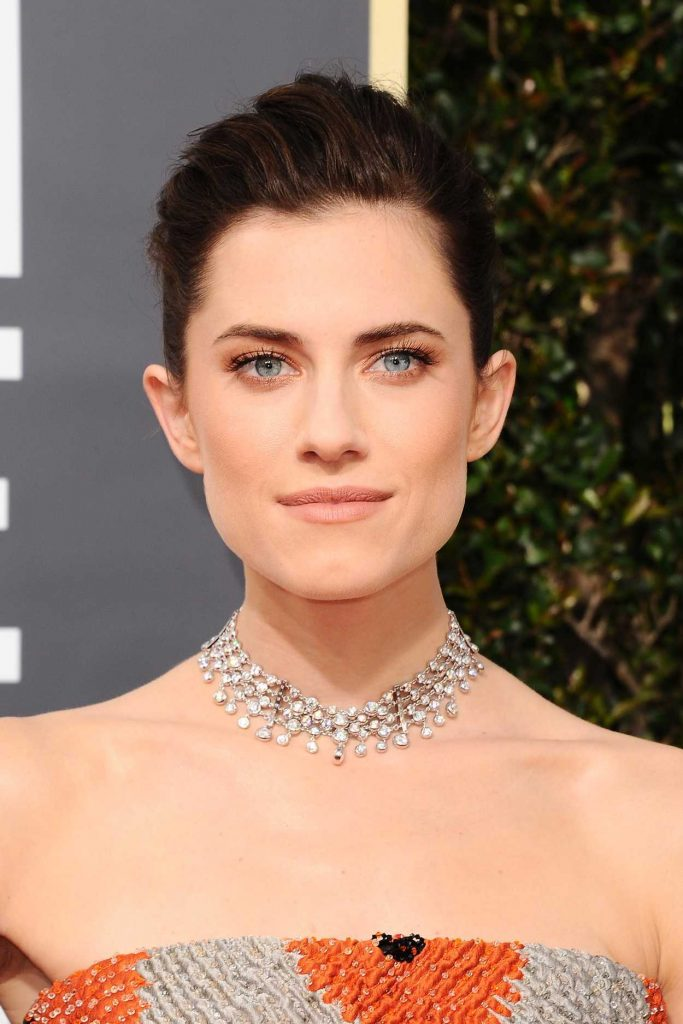 Allison Williams at the 75th Annual Golden Globe Awards in Beverly Hills 01/07/2018-5