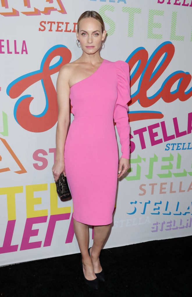 Amber Valletta at the Stella McCartney Show in Hollywood 01/16/2018-1