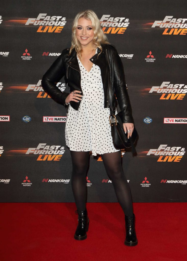Amelia Lily at the Fast and Furious Live Premiere in London 01/19/2018-1