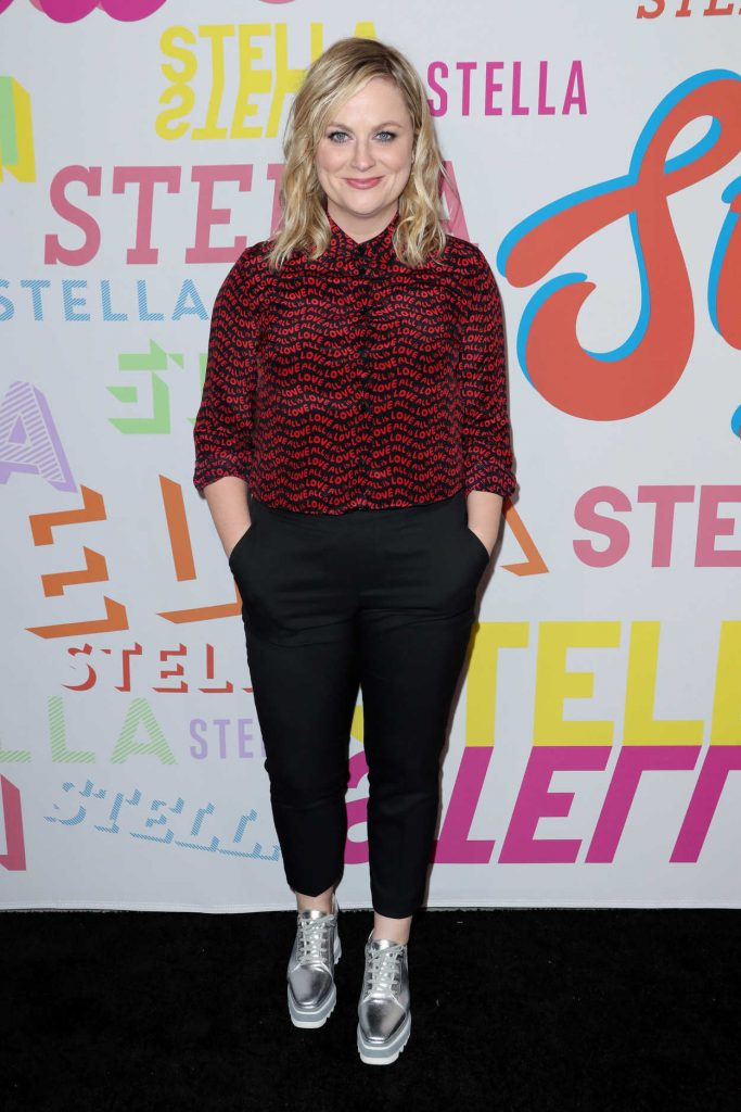 Amy Poehler at the Stella McCartney Show in Hollywood 01/16/2018-1