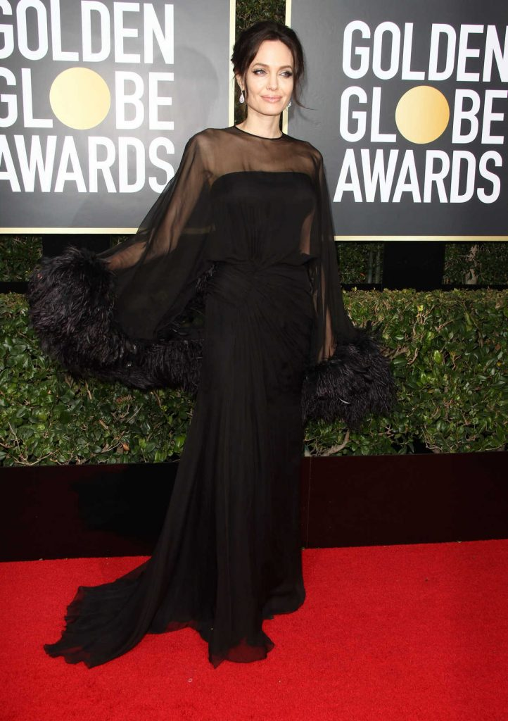 Angelina Jolie at the 75th Annual Golden Globe Awards in Beverly Hills 01/07/2018-1